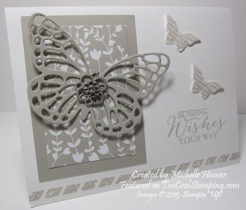 Butterfly wishes thinlit 1 copy