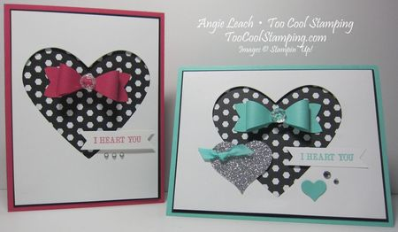 I heart you bow - two cool