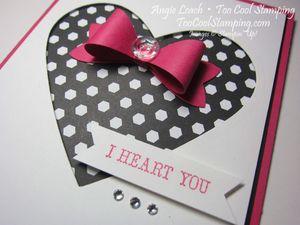 I heart you bow - melon2