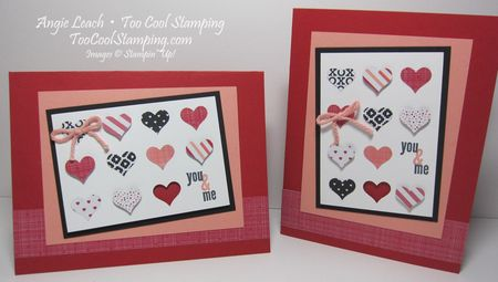 You & me mini hearts - two cool