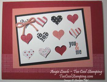 You & me mini hearts - h