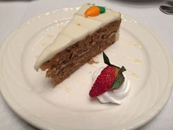 Leadership 2015 - yummy carrot cake