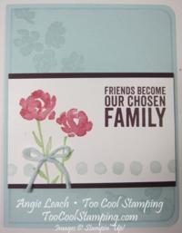 Soft sky roses - family