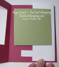 Sheltering tree pop out swing card - how to 6