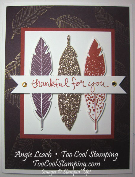 Blackberry four feathers - thankful