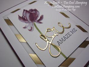 Lotus blossom foil - razzleberry 2