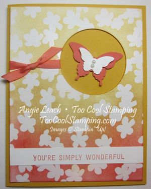 Irresistibly yours butterfly window