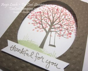 Sheltering tree tri-fold - suede 2
