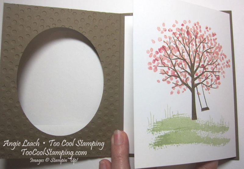 Sheltering tree tri-fold - suede 3