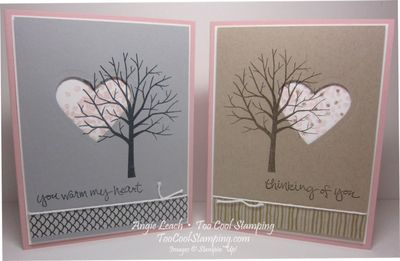 Sheltering tree heart - two cool
