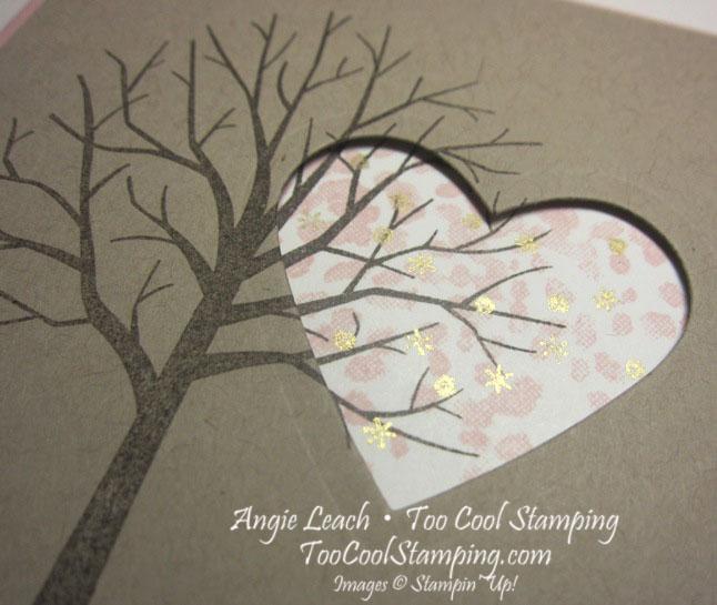 Sheltering tree heart - crumb 2