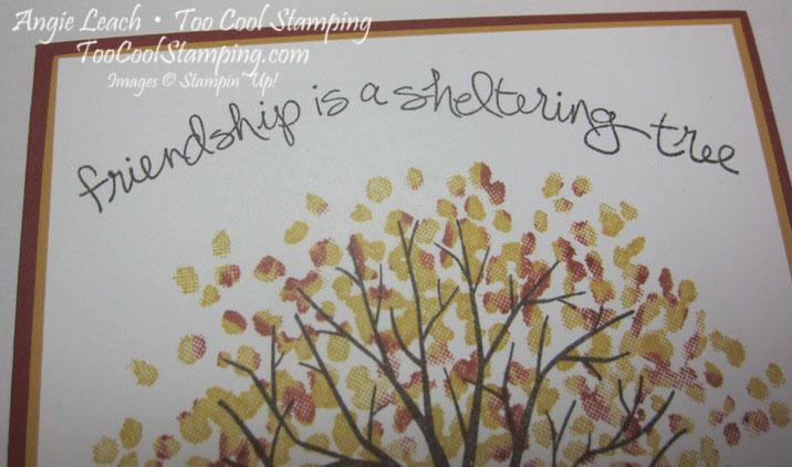 Sheltering tree autumn - one tree 3