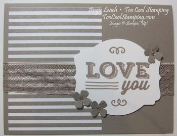 Taupe friendly wishes - love 1