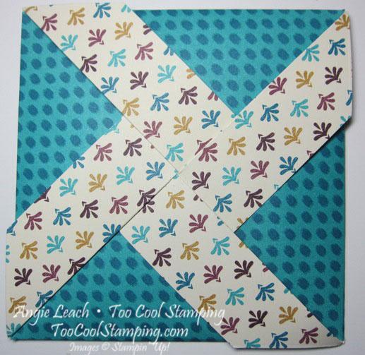 Bohemian pinwheel cards - bermuda thanks4