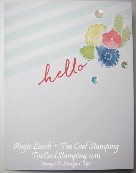 Watercolor Wishes - hello diagonal