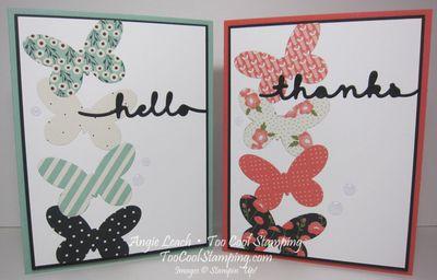 Pretty greetings - two cool