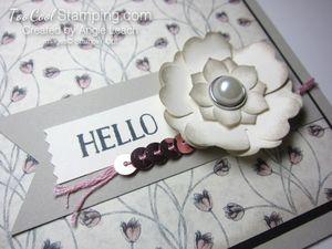 Timeless elegance petite floral - blush 2