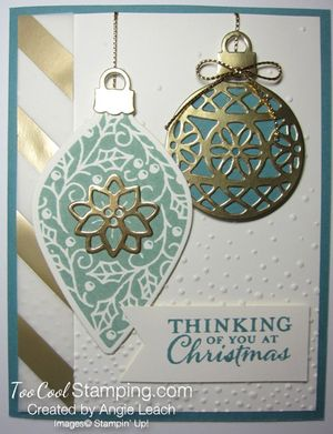 Embellished ornaments lagoon 1