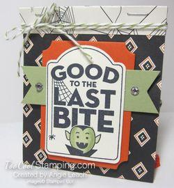 Last Bite Treat Bags - black diamonds