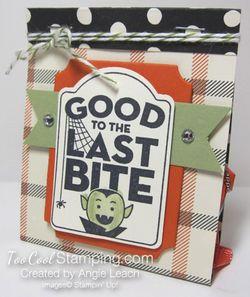 Last Bite Treat Bags - plaid