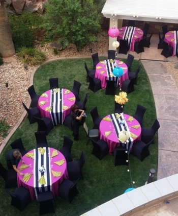 Bbq dinner tables