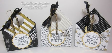 Winter wonderland pouch - three cool