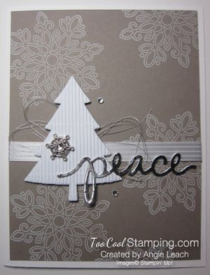 In color christmas - taupe