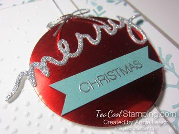 Holly Jolly Ornament - merry 2