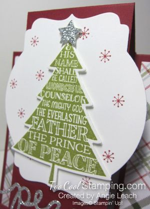 Peaceful pines step cards - prince of peace 3