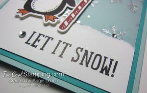 Snow place let it snow - penquin 4