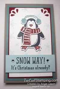Snow way note pad