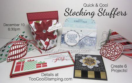 Stocking stuffer class - ensemble