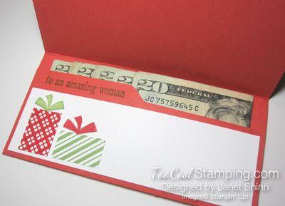 Your presents money holders - birthday open