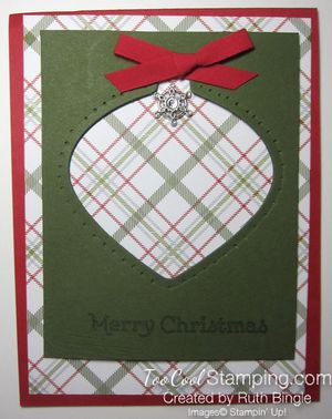 Merry Moments Ornament - Ruth Bingle