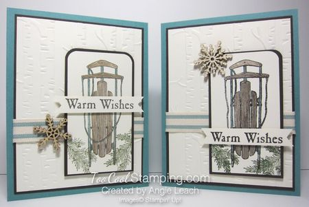 Winter wishes swap - two cool