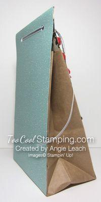 Christmas gift bags - santas 4