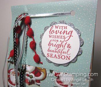 Christmas gift bags - santas 2