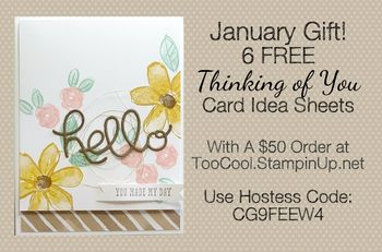 January hostess code logo