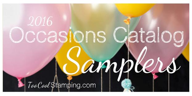 2016 Occasions Paper Sampler Logo - tc
