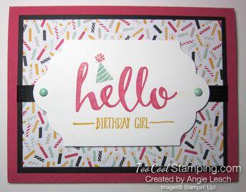 Hello Birthday Girl - mambo