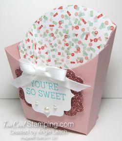 Sweet birthday blooms treats - blushing 2