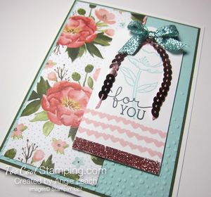 Dear you birthday blooms - coral 2