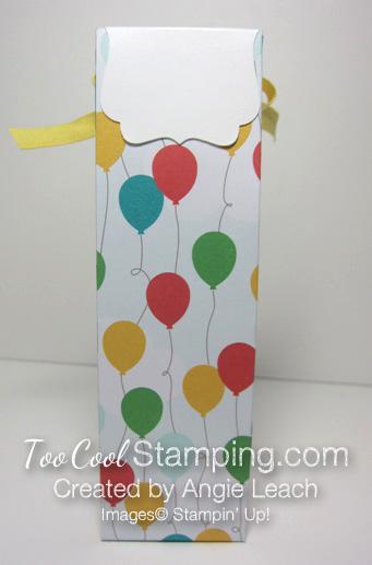 A mini tall box - cherry back