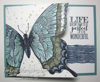 Sparkly swallowtail - lost lagoon