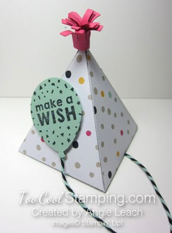 Party hat pinatas - one cool