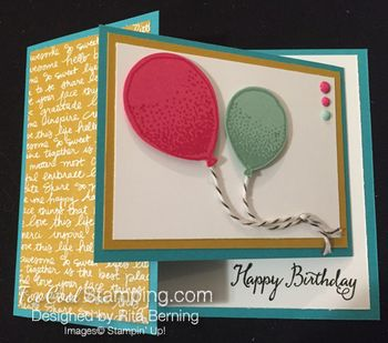 Balloon celebration joy fold 2