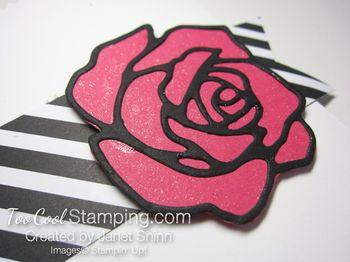 Rose garden pocket card 2 - janet