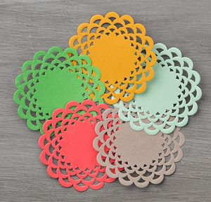 In color doilies 141674G