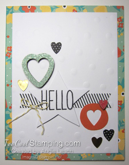 Oh happy day kit - card 1