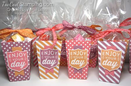 Popcorn boxes - ensemble